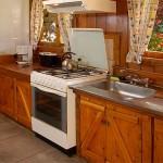 Cabaña Playa - Cocina